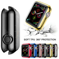 5/4/3/2 Series Case iWatch Accessories For Apple Watch 44mm Band Screen Shell