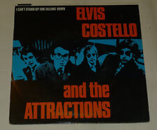 """ELVIS COSTELLO 7"""" I CANT STAND UP FOR FALLING DOWN 1980 PICTURE SLEEVE EXCL XX1"""