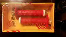 OLD SCHOOL BMX NOS JIVE HANDLES GRIPS RED VINTAGE STILL IN THE BOX