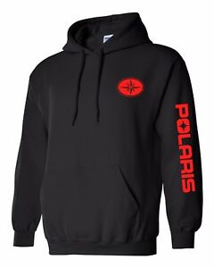 POLARIS style SNOWMOBILE Hoodie ATV Sweatshirt UP TO 5X! Choose Design Color!