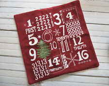 Pottery Barn * Christmas * Advent * Pillow Cover
