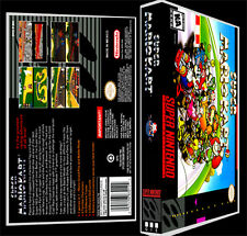 Super Mario Kart  - SNES Reproduction Art Case/Box No Game.