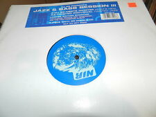 "Various  ‎– DJ SS Presents Jazz & Bass Session III 2000 USED 12"" SAMPLER"