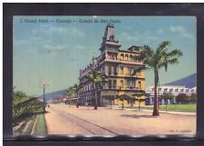Cartolina BRASILE Grand Hotel Guaruja Estado de Sao Paulo XB89
