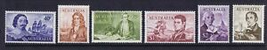 Australian Decimal Stamps 1966 Navigator Set 6 Mixed Centering Mint[gg163]