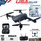 FPV Wifi Drone Quadcopter With HD Camera Aircraft Foldable Selfie Toy Adjustable