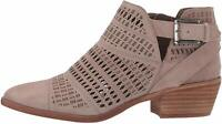 Vince Camuto Women's Shoes Paavani Leather Closed Toe Ankle, Beige, Size 7.0 7Xg
