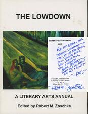 Robert M Zoschke, ed. / The Lowdown Literary Arts Annual 2013 1st Edition