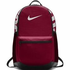 8ba497f3492599 NIKE BRASILIA MEDIUM SCHOOL TRAINING GYM UNISEX BACKPACK RED CRUSH BLACK  BAGS