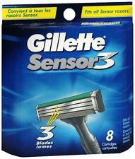Gillette Sensor3 Shaving Cartridges 8 Each