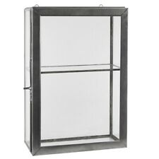 Wall Hanging Storage Glass Cabinet With 1 Glass Shelf & Glass Door by Ib Laursen