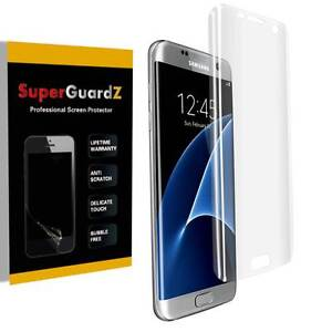 3X 3D Curved Clear FULL COVER Screen Protector Guard For Samsung Galaxy S7 Edge