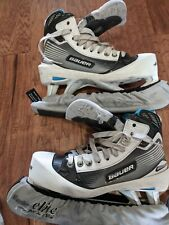 ice hockey goalie skates Bauer size 9.5