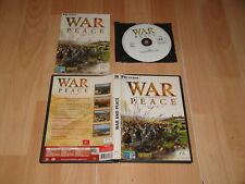 WAR AND PEACE 1796 1815  DE MICROÏDS PARA PC USADO COMPLETO
