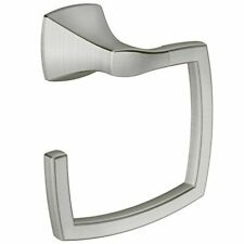 Moen YB5186BN Voss Collection Bathroom Hand Towel Ring Brushed Nickel