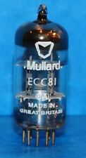 50 PCS ECC81 12AT7 MULLARD UK SHORT STALK TUBES VALVES. USED TESTED