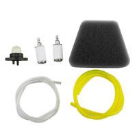 Poulan Craftsman Gas Fuel line filter air filter primer Bulb Pump Spark Plug