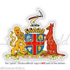 "ADELAIDE armoiries Australie du Sud BLASON australien 4 ""Adesivo Autocollant"