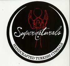 Supernaturals Handcrafted Turkish Cymbal Sticker/ Decal