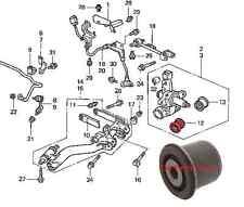 FOR HONDA CIVIC CRV REAR TRAILING LOWER SUSPENSION HUB ASSEMBLY BOTTOM ARM BUSH