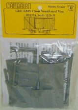 Cambrian C101 LMS 12t Ventilated Van Steel Ends Plastic Kit OO Gauge