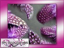 Federn Feder Tolles Design, Violett - Lila Nail Art UV Gel Nails Acryl #00251