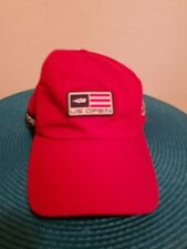 AMERICAN NEEDLE 2008 US OPEN GOLF HAT / CAP - OPEN ERA 40 YRS W/  American Flag