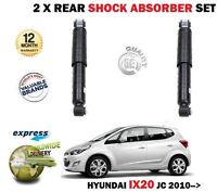 FOR HYUNDAI IX20 JC 1.4 1.6 + CRDI 2010->NEW 2 x REAR SHOCK ABSORBER SHOCKER SET
