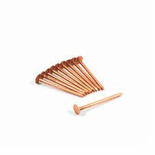 10 Kupfernägel 2,8 X 50 Schieferstift Breitkopfstift Schiefernagel Pappstift