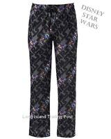 STAR WARS by Disney Knit Pajama Pants Lounge PJ's Lucas Films Characters M L XL