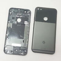 Battery Back Cover Rear Plate Fits Google Pixel XL Original Part Quite Black