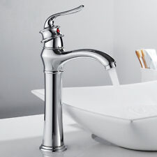 Tall Bathroom Taps Vintage Taps Basin Sink Mixer Chrome Monobloc Brass Faucet