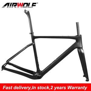 Internal Cable Carbon Fiber Gravel Bicycle Frame Road Bike Frameset 49 - 58cm