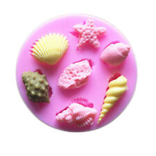 chocolate jelly silicone cake mold  sea shell Silicone molds