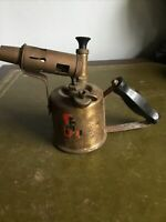 Blow Lamp Blow Torch R M Blowlamps Vintage Brass