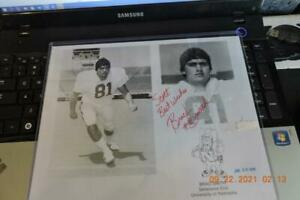 Nebraska Cornhusker - autographed photograph #-81 Brad Smith Herbie Husker