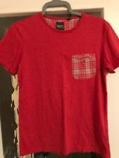 Born by Ted Baker Men's Red T-Shirt Small S