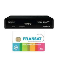 STRONG SRT7405 HD Récepteur satellite HD + Carte FRANSAT pour Eutelsat 5W / AB3