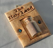 Holy Land Sand Wall Hanging Bible Soil & Stones Earth Christian from Jerusalem