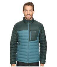 WAS $220! Mountain Hardwear DYNOTHERM Moisture Resistant Down Jacket. Men's L.