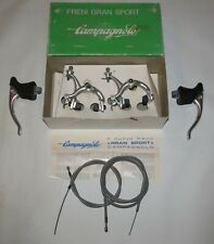 NOS Campagnolo Gran Sport Brakeset w/ Calipers Brake Levers Cable, Housing & Box