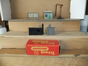 Tri-ang/Hornby Dublo, Lineside Huts, Coal Office, Timetable Sign, Water Crane