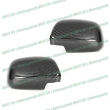 For 2006-2008 Lexus RX400h SUV Glossy Black Carbon Fiber Side Mirror Covers Trim