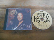CD Pop Aretha Franklin - Greatest Hits : 1980-1994 (16 Song) BMG ARISTA jc
