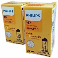 H7 PHILIPS Vision PX26d +30% mehr Licht 2st. 12972PRC1