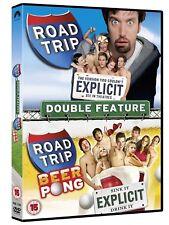 Road Trip & Road Trip 2 - Beer Pong Two DVD set Tom Green, Anthony Rapp cert 15