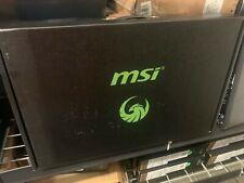 "OB MSI ALPHA 15 A3DD-004 Gaming 15.6"" 144Hz Ryzen 7 3750H 16GB RX5500M 512GB SSD"