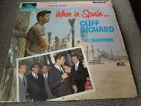 Cliff Richard and The Shadows When In Spain RARE Vinyl LP