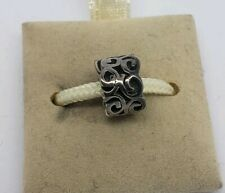 NEW CHAMILIA STERLING SILVER COIL BEAD CHARM