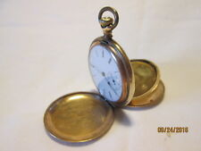VINTAGE ELGIN LADIES GOLD POCKET WATCH; CIRCA early 1900's 15 JEWEL; 60 GRAMS